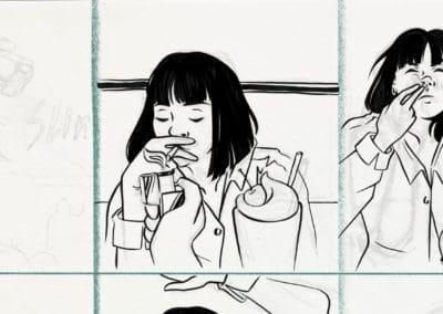 bd manga école illustration game art nouveaux médias dessin peinture game prog