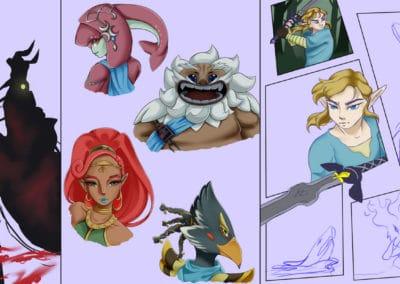 european bachelor of fine arts école bd manga illustration peinture game art dev prog